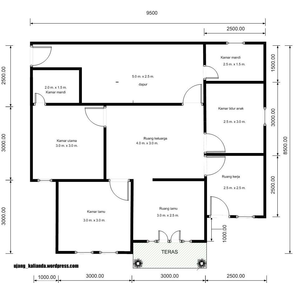 Denah Dan Model Rumah